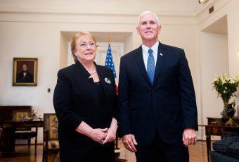 Vicepdte. de EEUU le pidió a Chile, Brasil, México y Perú que rompan relaciones con Corea del Norte