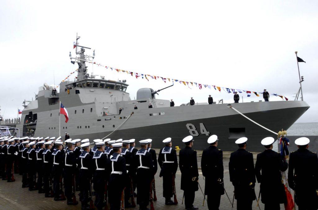 Armada incorpora su cuarto patrullero oceánico construido en ASMAR Talcahuano y estará destinado al norte del país