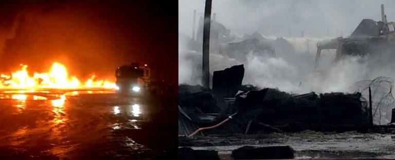 """Gobierno condena ataque incendiario en San José de la Mariquina y lo califica como """"Atentado"""""""