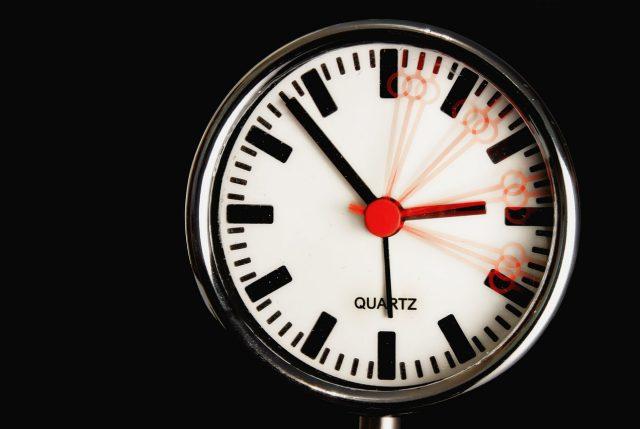 ¡Adelanta tu reloj!