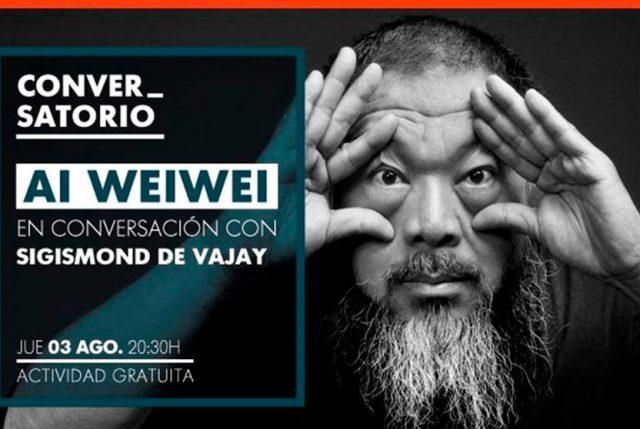 Conversatorio con Ai Weiwei en CorpArtes agota entradas