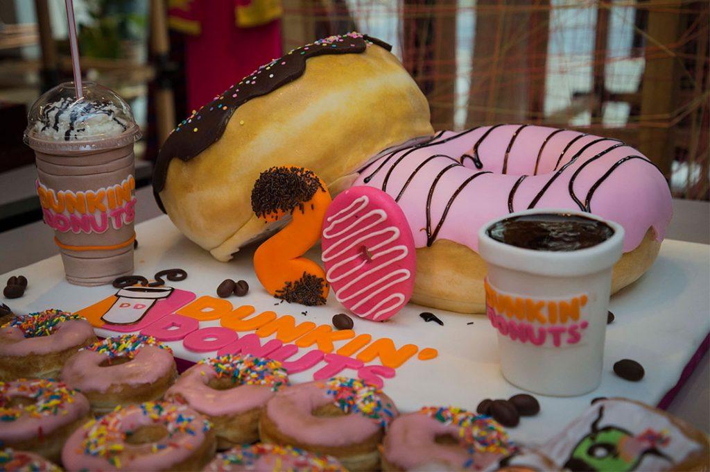Dunkin' Donuts cumple 20 años en Chile: En estas dos décadas se han vendido casi 200 millones de Donuts