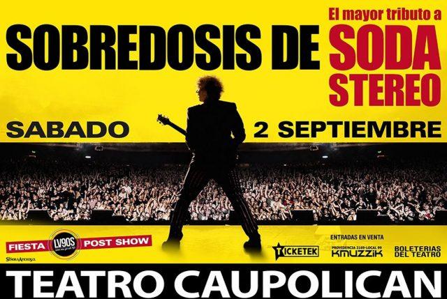 Show tributo a Soda Stereo