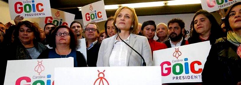 Goic continúa como presidenciable y decide bajar candidatura de Rincón