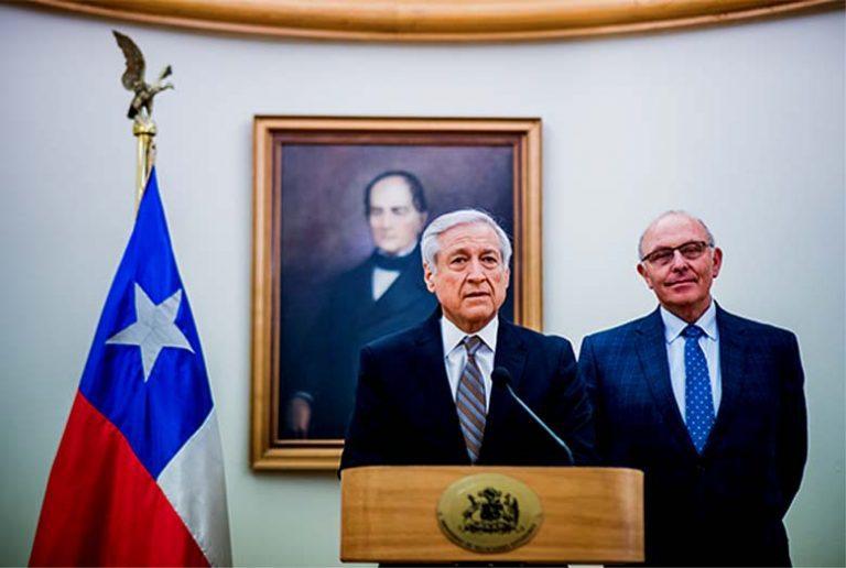 Canciller Muñoz en reunión con Agente de Chile ante La Haya, revisó borrador de la dúplica a demanda boliviana