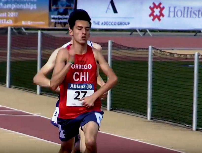 Mundial Juvenil de Atletismo Paralímpico: Atleta de Hualpén gana el oro en los 1.500 metros