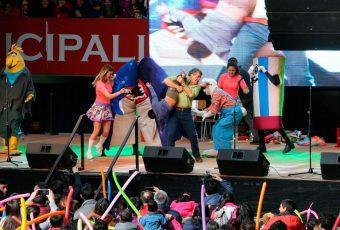 Más de 5 mil personas llenaron el Coliseo de Valdivia para ver el Show de Cachureos