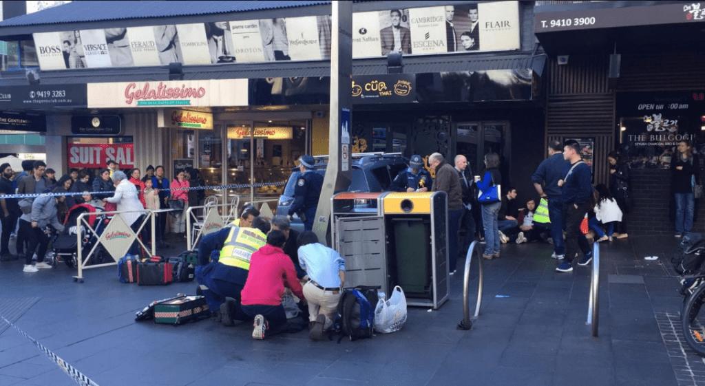 La pesadilla llega a Australia: Vehículo atropella a transeúntes en Sidney