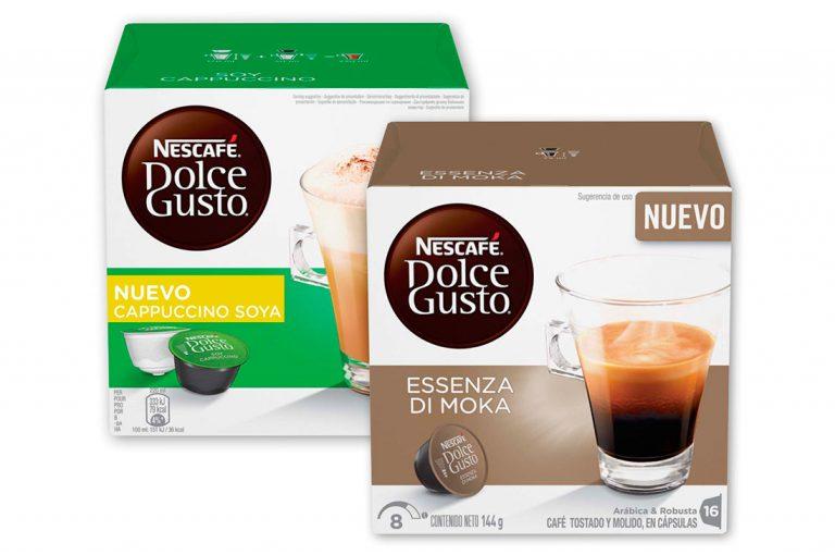 NESCAFÉ® Dolce Gusto® lanza 2 nuevas variedades: Essenza di Moka y Cappuccino Soya