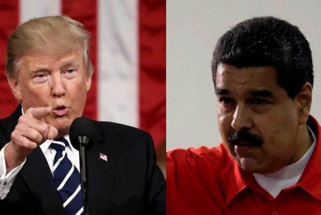 """Ahora Trump evalúa """"una posible opción militar"""" en Venezuela"""