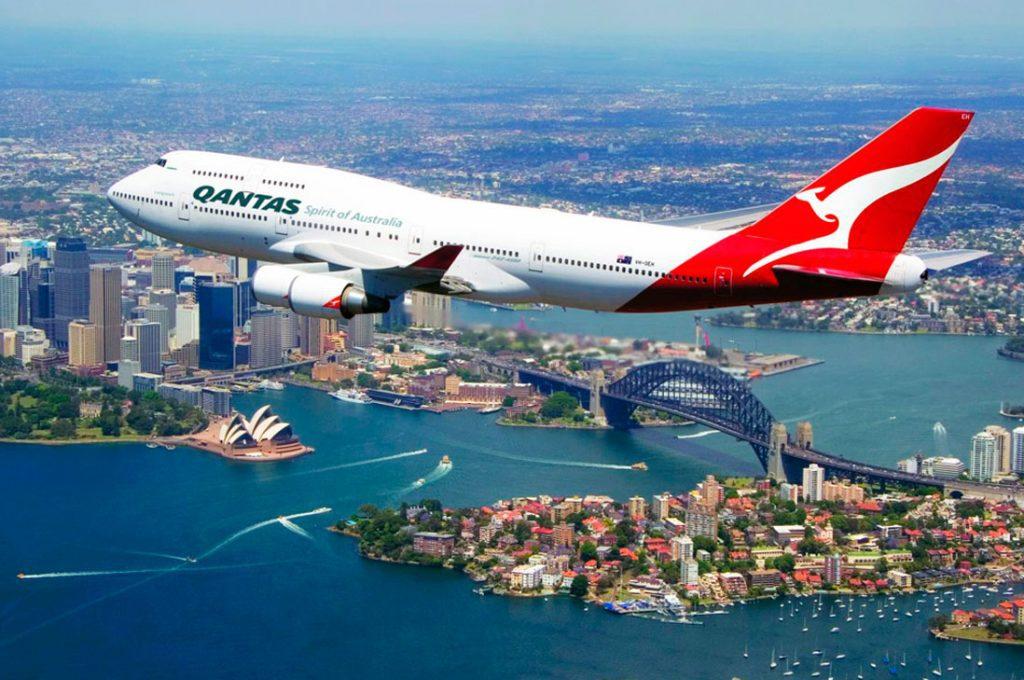 5to aniversario de Qantas en Chile