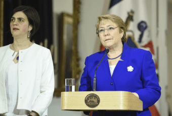"""Bachelet valora aprobación del TC a proyecto de 3C y asegura que """"hoy ha ganado Chile"""""""