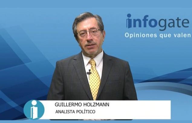 Guillermo Holzmann proyecta que votará el 40% del padrón electoral