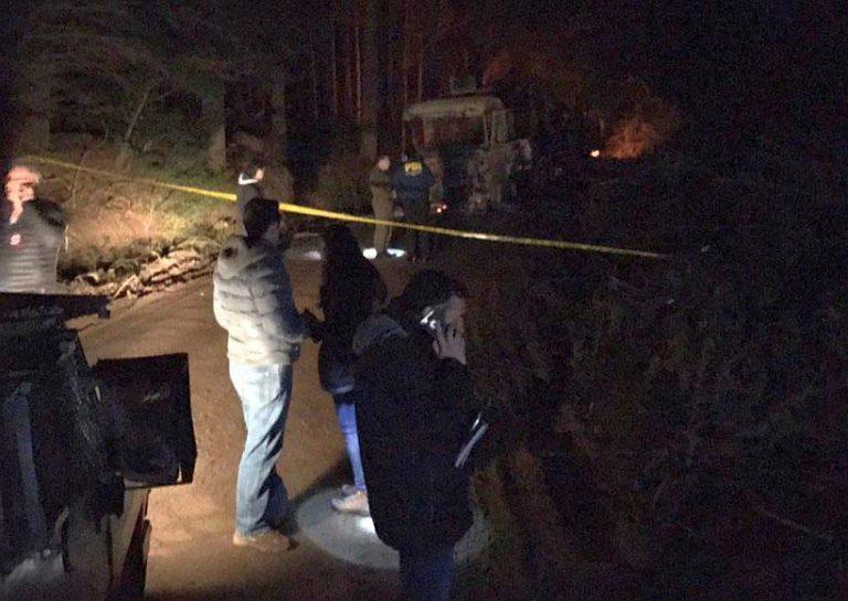 Esta noche 7 vehículos mayores quemados en fundo La Envidia en Padre Las Casas. Gobierno se querella por Ley de Seguridad del Estado
