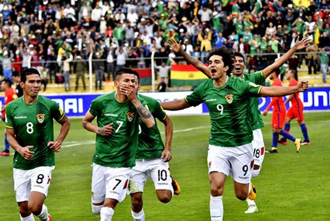 Bolivia vence a Chile 1-0 y la deja al borde de la repechaje: Primera victoria en La Paz en 17 años
