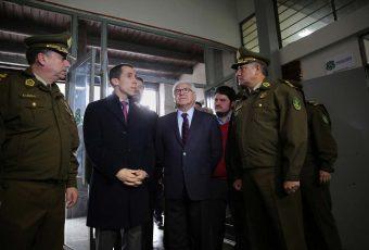 Fiestas Patrias: Ministro del Interior da el vamos a Comisaría Temporal en Parque O'Higgins de Santiago