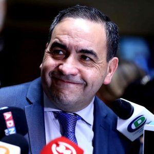 Fidel Espinoza, diputado PS, presidente de la Cámara de Diputados