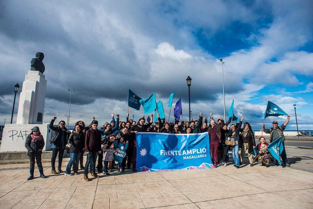 Gabriel Boric lanza candidaturas del Frente Amplio en Magallanes