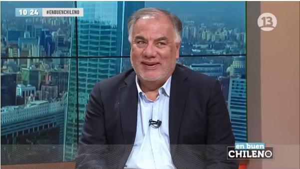 """Andrade golpea a Sánchez por """"veto"""" a Melnick: """"Yo no luché contra la dictadura y recuperé la democracia para evitar los debate"""""""