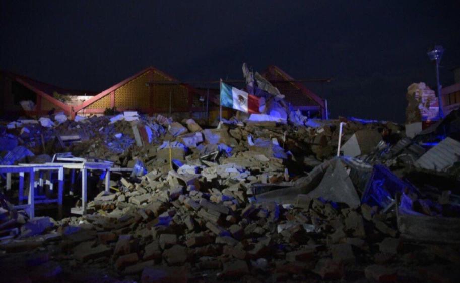 Confirman 15 muertos por violento terremoto en México