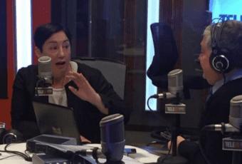 """Sánchez contra Melnick: """"Yo no voy a ir a un programa donde hay un panelista que fue ministro del dictador"""""""