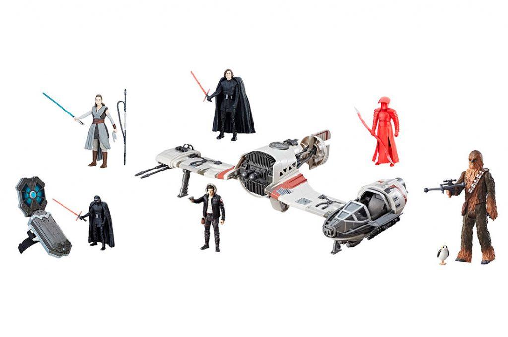 Star Wars Episodio 8: Revelan nuevos juguetes de la saga