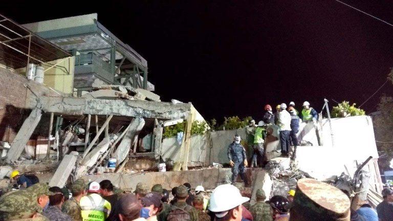 Actualizado: Terremoto México muertos suben a 224 y más de 40 edificios derrumbados