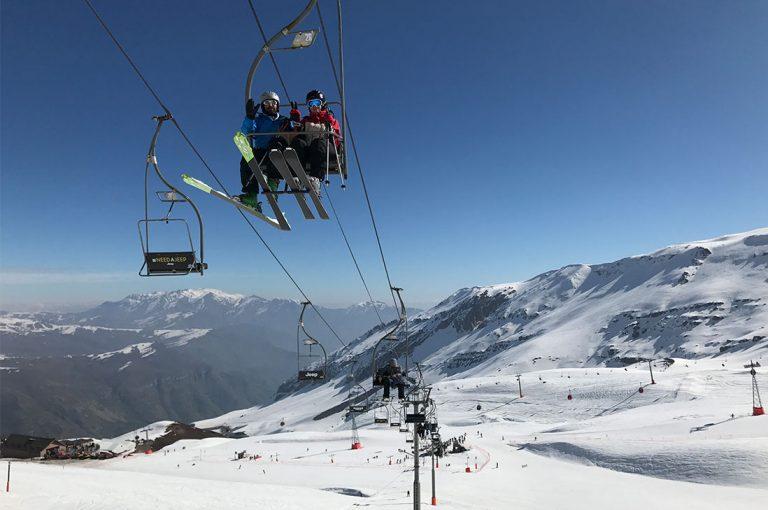 Valle Nevado, ski a una hora de Santiago