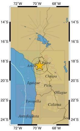 Alcalde de Arica confirma autoevacuaciones tras fuerte temblor en el norte