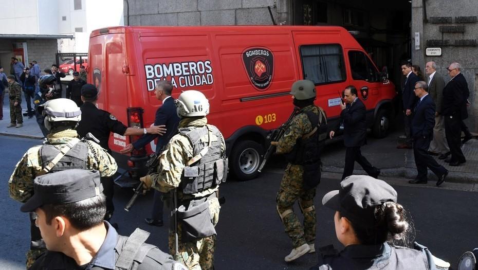Argentina: Con  megaoperativo de seguridad se inicia autopsia a cuerpo encontrado en Río Chubut