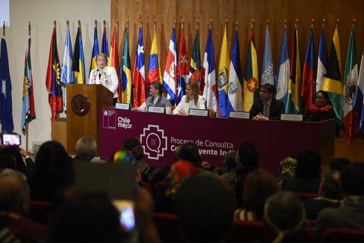 """Bachelet: """"Chile necesita que su Constitución dé cuenta de las transformaciones que como sociedad hemos vivido"""""""