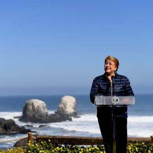 Michelle Bachelet, Presidenta de la República