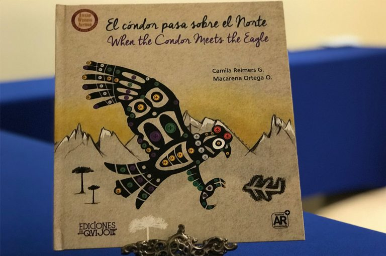 Con gran éxito lanzan libro chileno con APP de Realidad Aumentada en México