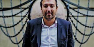 12 de Octubre de 2017 Isaac Givovich, yerno de Joaquin Lavin. posando para entrevista de Reportajes del Diario La Tercera    Foto: Marcelo Segura