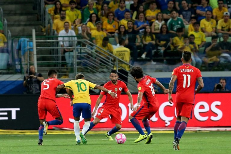 Chile cae ante Brasil en Sao Paulo y queda fuera de la Copa del Mundo de la FIFA – Rusia 2018