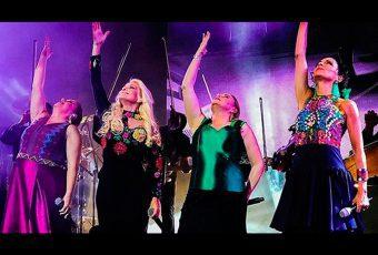 "Pandora y Yuri arrancaron el tour ""Juntitas"""
