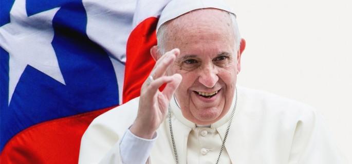 Encuesta Cadem muestra que el 50% de los chilenos cree que visita del Papa no es importante