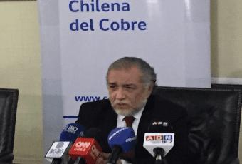 Cochilco eleva proyección del precio del cobre a US$ 2,77 la libra para 2017