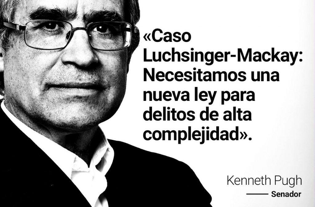 """Candidato Kenneth Pugh por caso Luchsinger MacKay: """"Inoperancia de la ley antiterrorista y fracaso del Ministerio Público"""""""