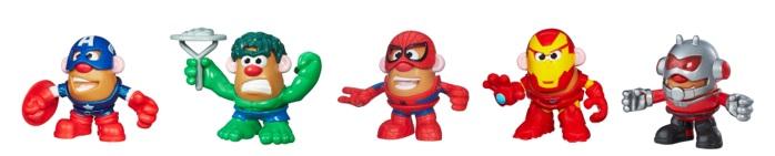 ¡El Señor Cara de Papa se disfrazacomo los superhéroes de Marvel!