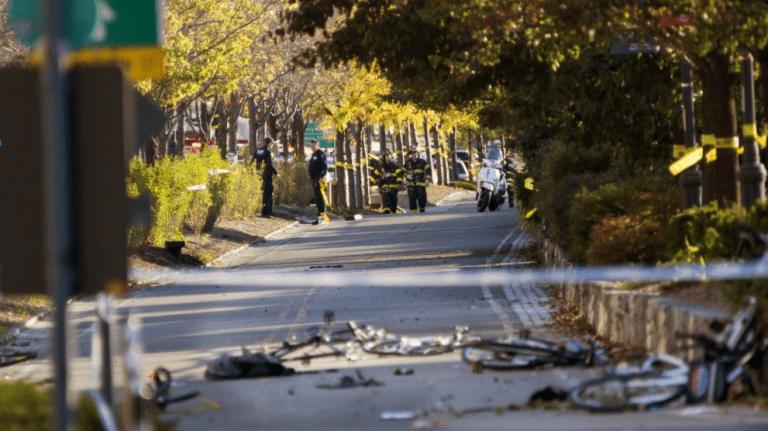 Tiroteo y atropello en el centro de Manhattan deja varios muertos y heridos