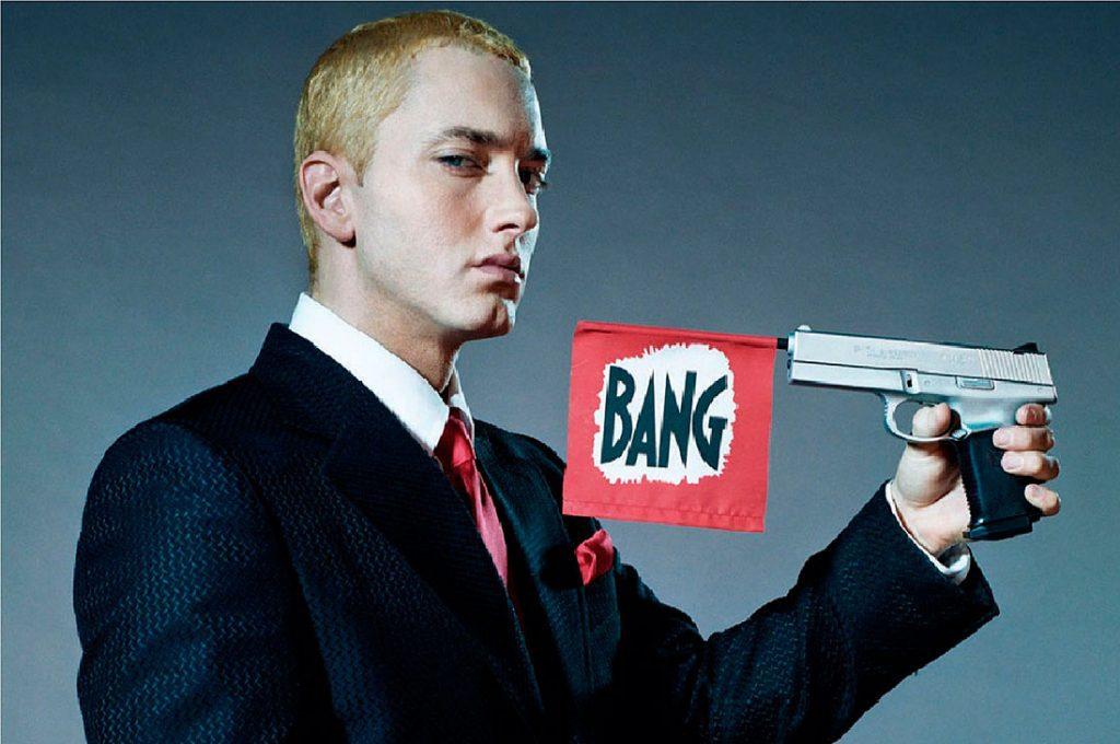 Eminem cree que el presidente Trump será el causante de un holocausto nuclear