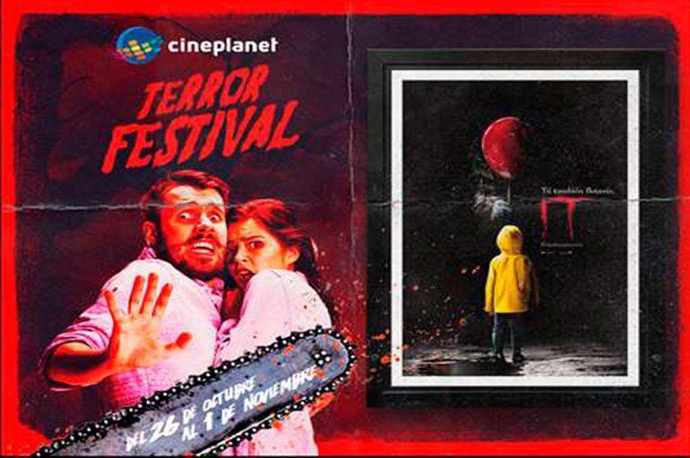 Festival de terror llega a Cineplanet