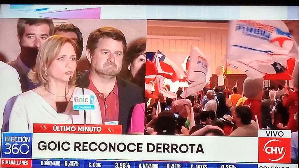 """Carolina Goic: """"No ha sido el resultado que esperábamos, es un mal resultado"""""""