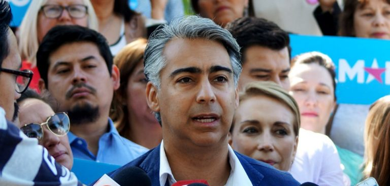 """MEO no suelta a Piñera: """"No quiero más operadores empresariales en el Estado; se acabará el nepotismo del cual abusó Piñera"""""""