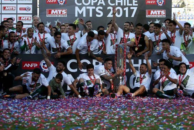 """Wanderers derrota a los """"chunchos"""" y es el flamante Campeón Copa Chile"""