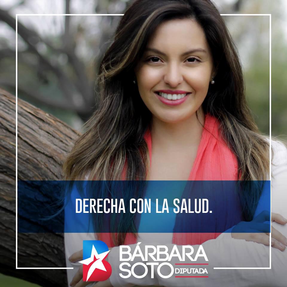 ¡¡A llevar a llevar!! Candidata a diputada de Piñera entrega volantes con cupones de descuento