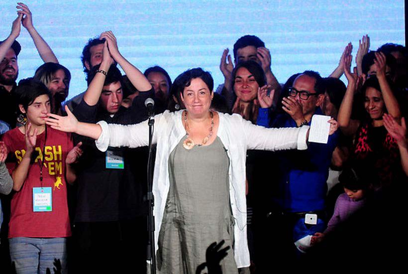 """Beatriz Sánchez: """"El Frente Amplio llegó y para quedarse"""""""