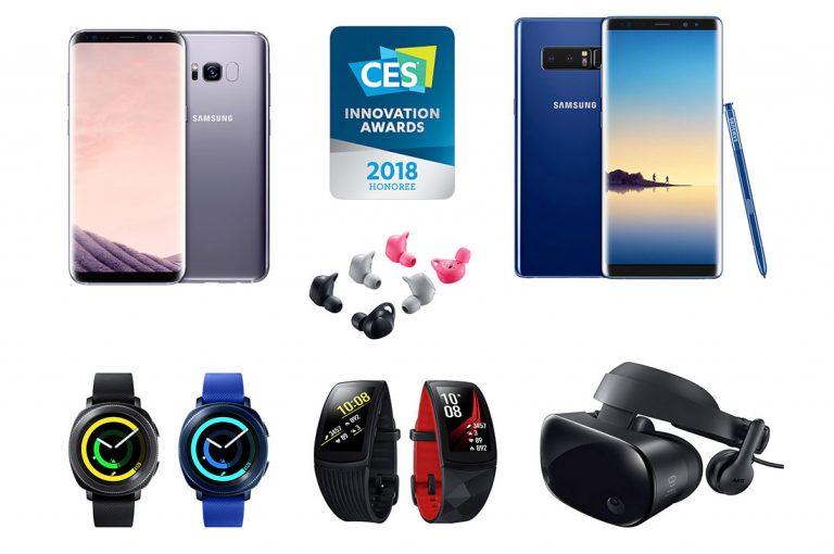 Samsung recibe 36 premios de Innovación en CES 2018 y destaca en Diseño e Ingeniería