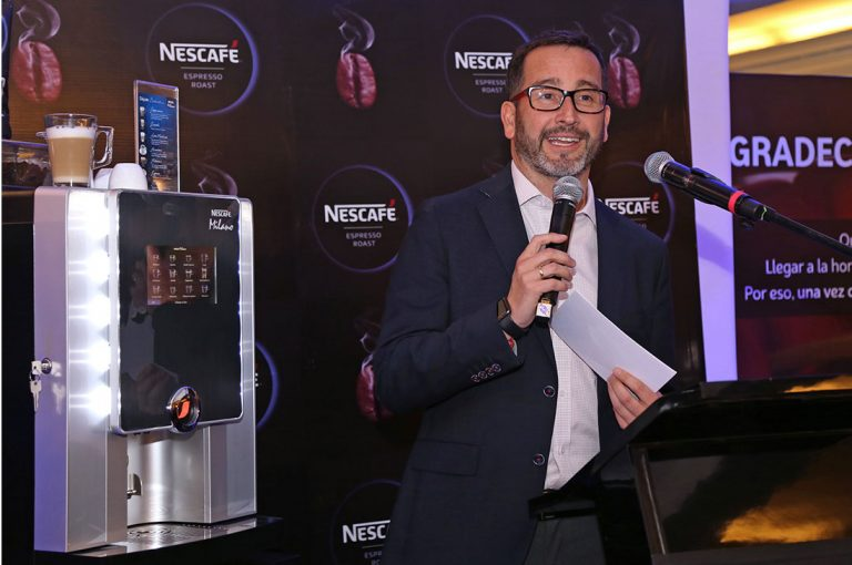 Entretenido lanzamiento de Nescafé